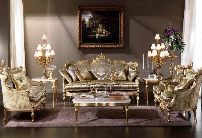 Barokke stijl in het interieur