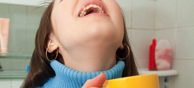 Мирамистин как полоскать горло детям