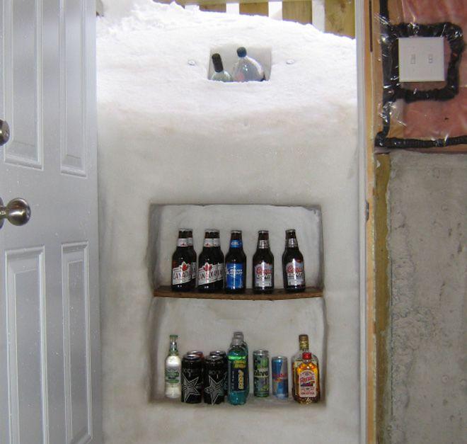 если выпало много снега