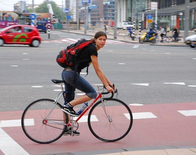 как работает велосипед