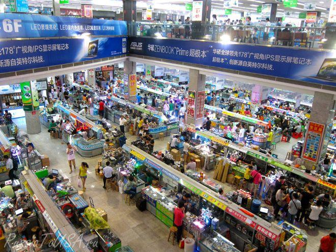 Китай рынок