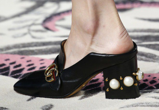 туфли без пятки