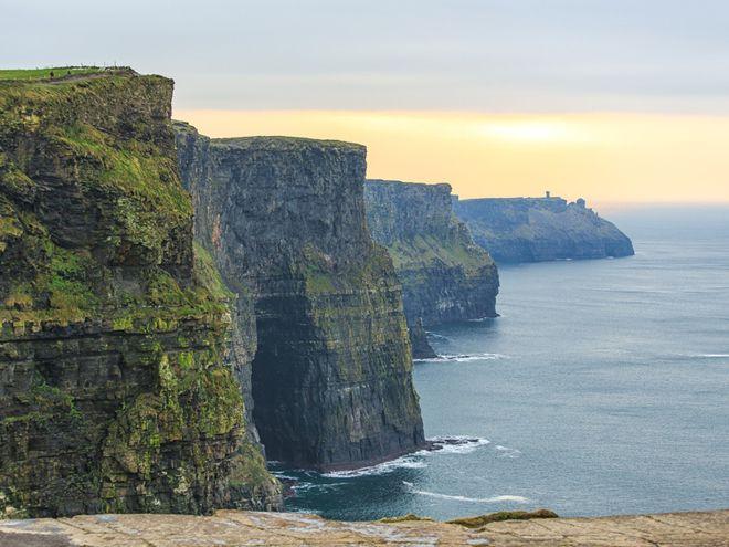 утесы мохер ирландия