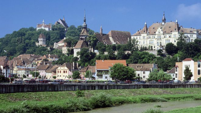 Румыния местность