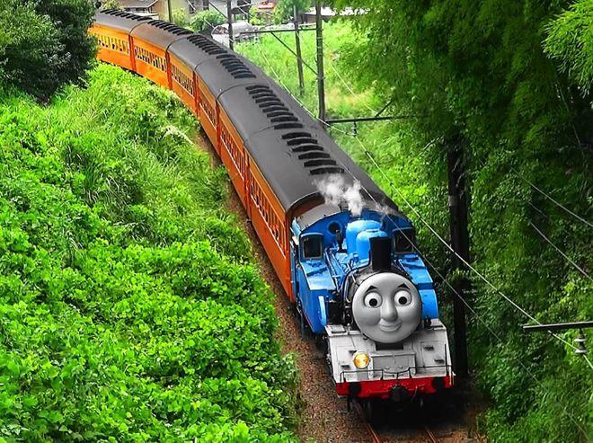 вот это разнообразие поездов