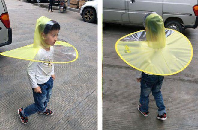 детский зонт НЛО2