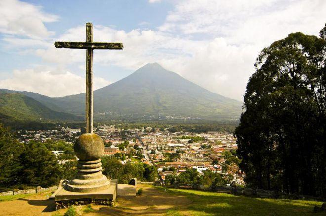 Гватемала местность