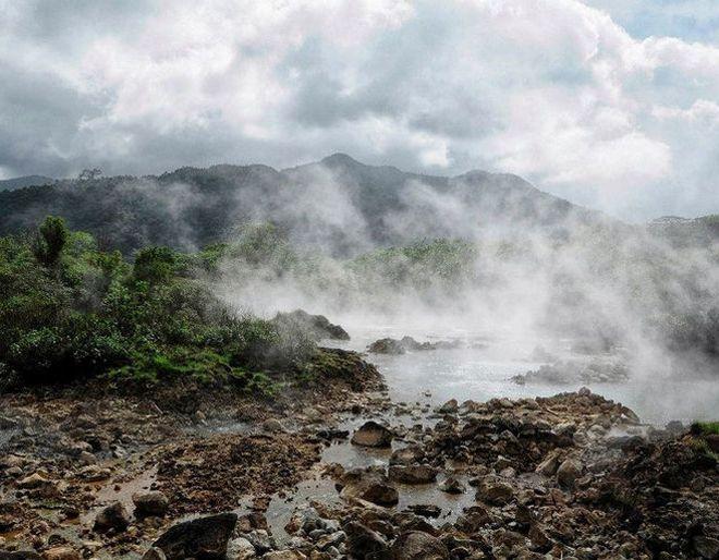 кипящее озеро доминиканская республика