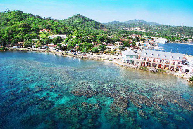 Гондурас пляж