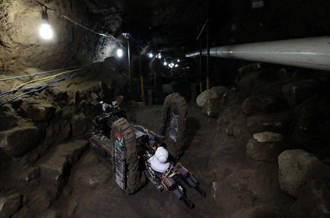 подземные коридоры