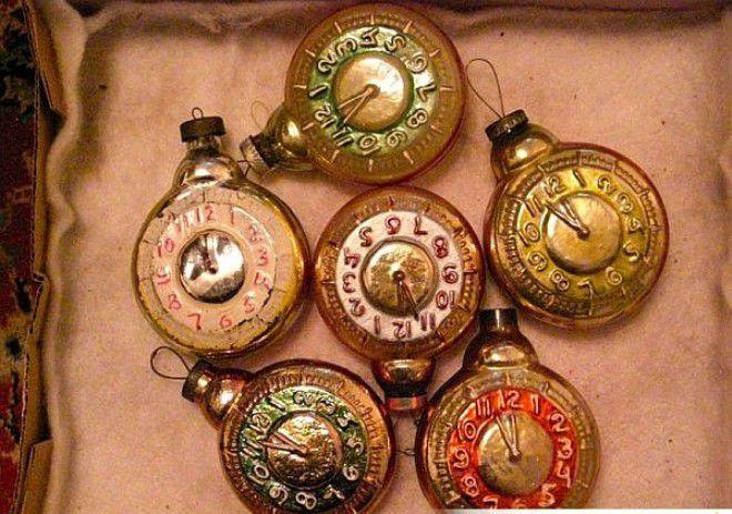 часы на елку