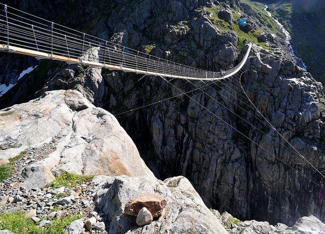 мост трифт швейцария