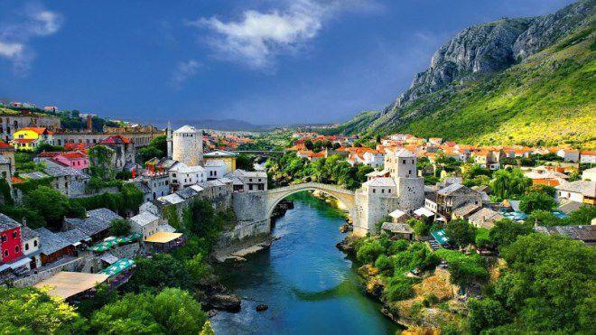 Албания местность