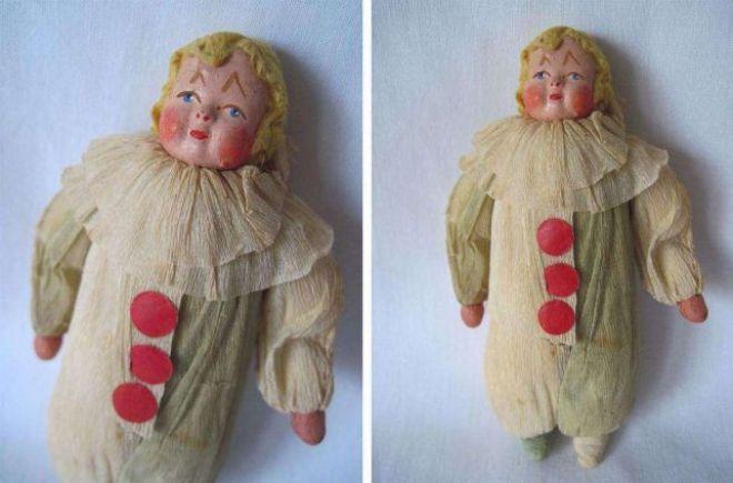 кукла из гофре