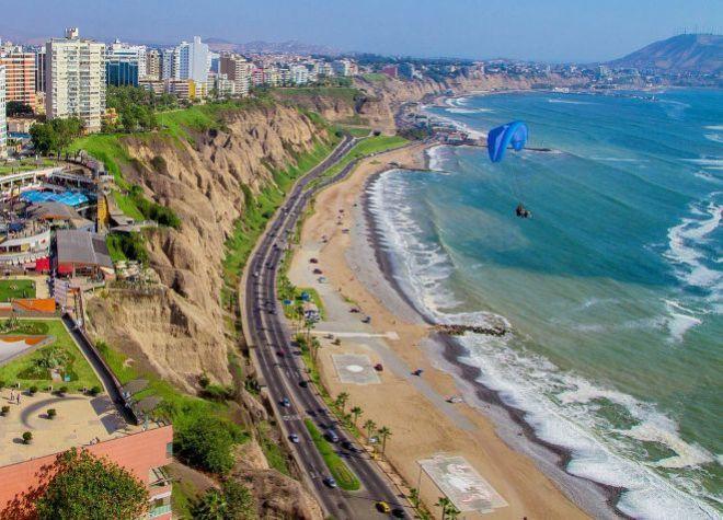 Перу пляж