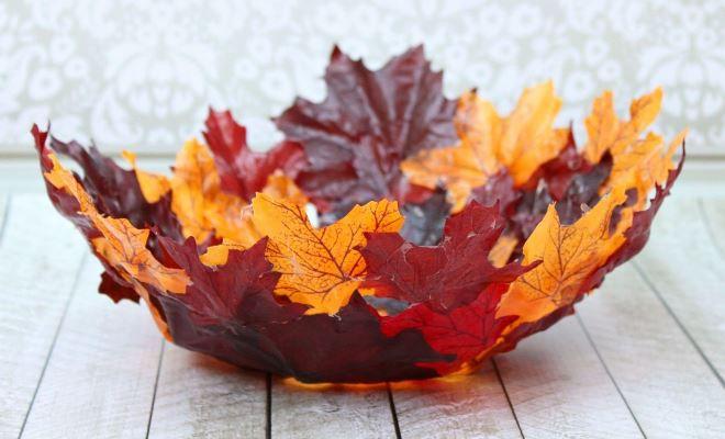 Осенние названия поделок из листьев