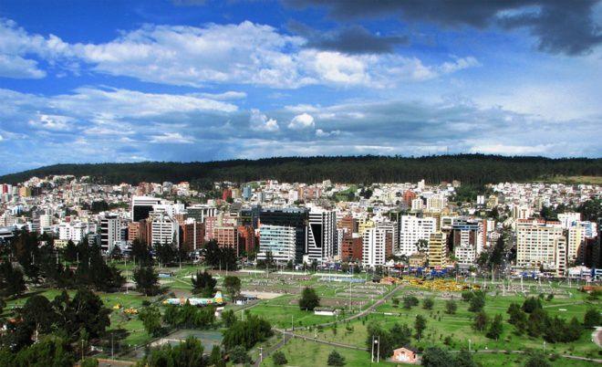 Эквадор город