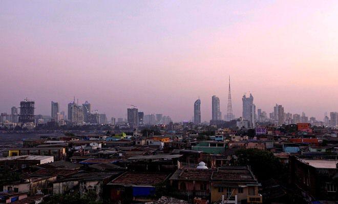 Индия вид из окна