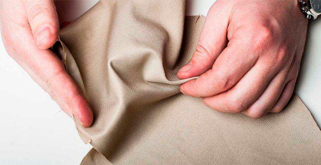 Качество ткани на ощупь