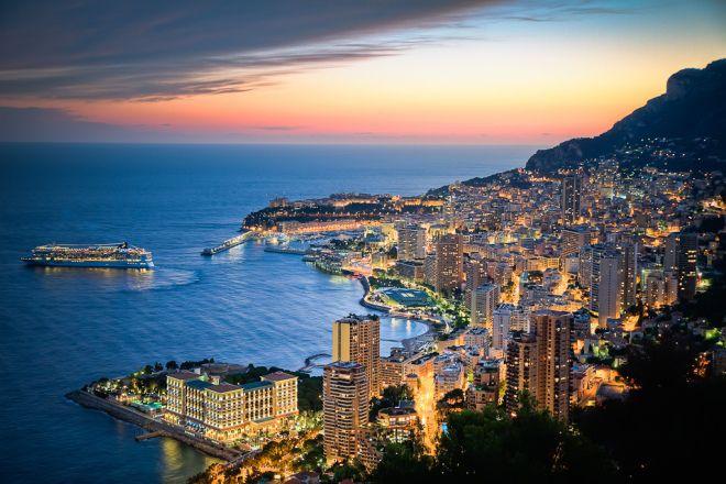 лазурный берег Монако