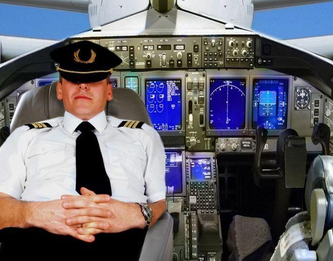 пилоты спят во время