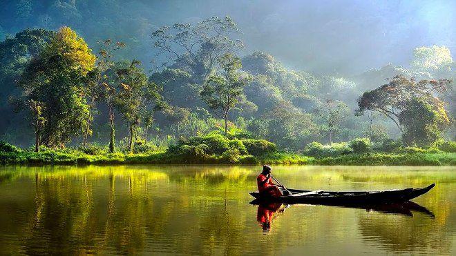 Индонезия местность