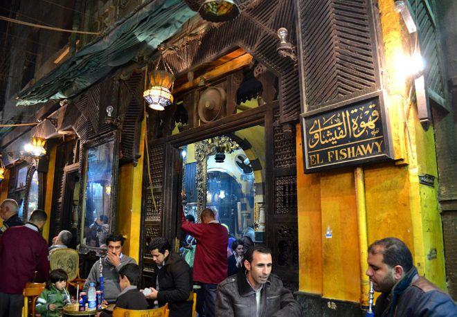 каир кофейня el fishawy cafe
