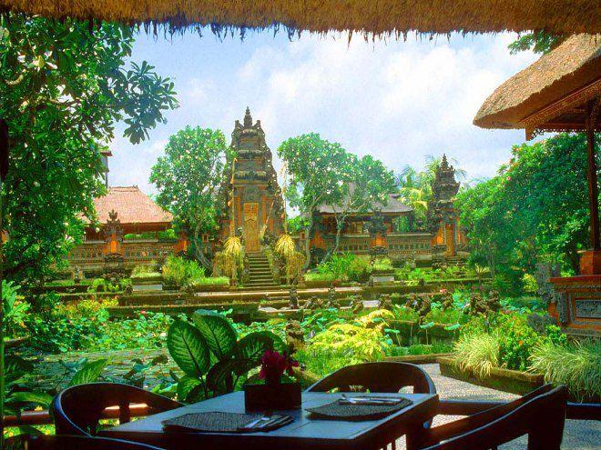 Бали местность