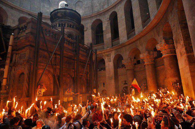 условия появления священного огня