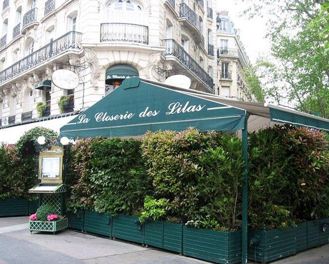 париж - кофейня closerie des lilas