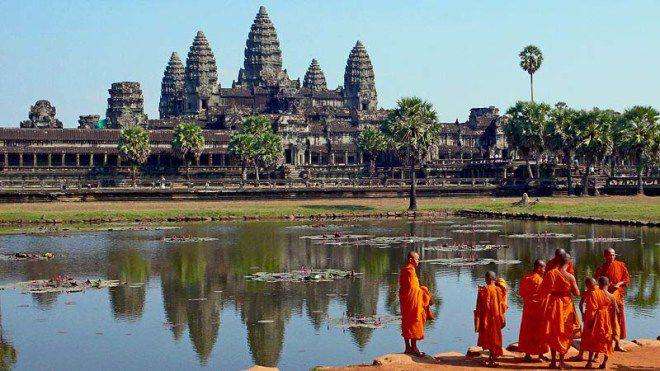 Камбоджа местность