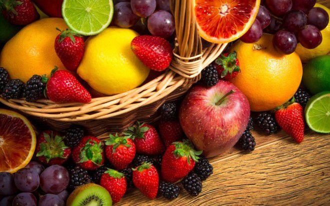 есть фрукты с кожурой