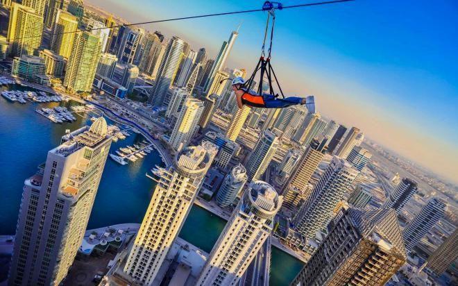9 самых зрелищных развлечений Дубая