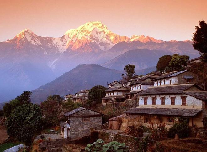 Непал дома