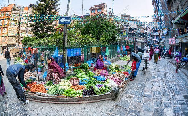 Непал рынок