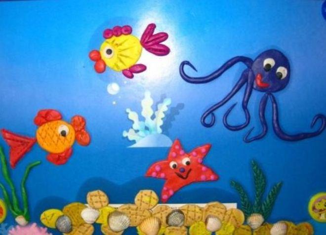Подводный мир поделка своими руками фото 16