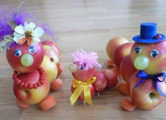 Поделки дары осени для детского сада11
