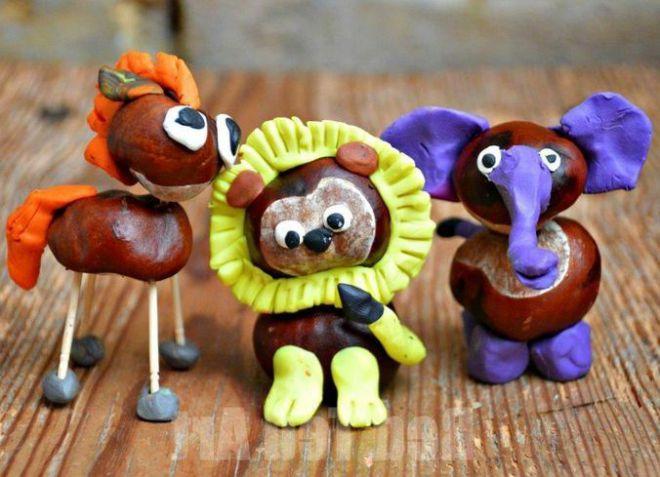 Поделки дары осени для детского сада3