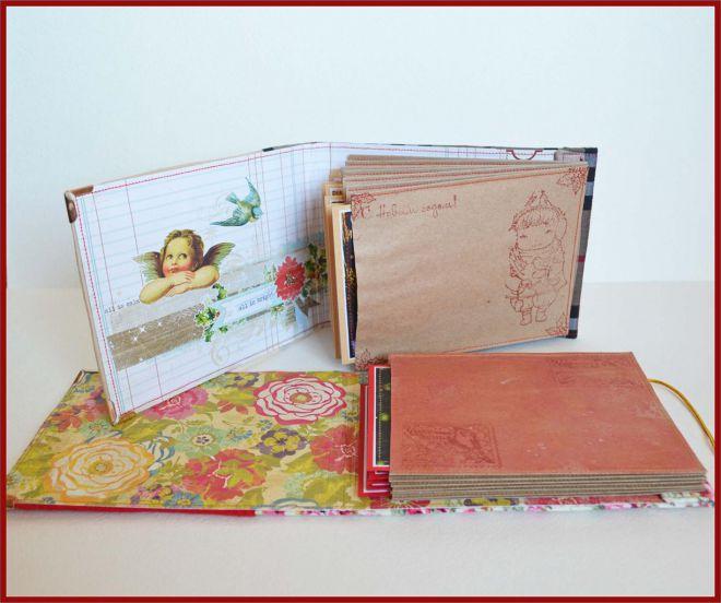 альбом из конвертов скрапбукинг 26