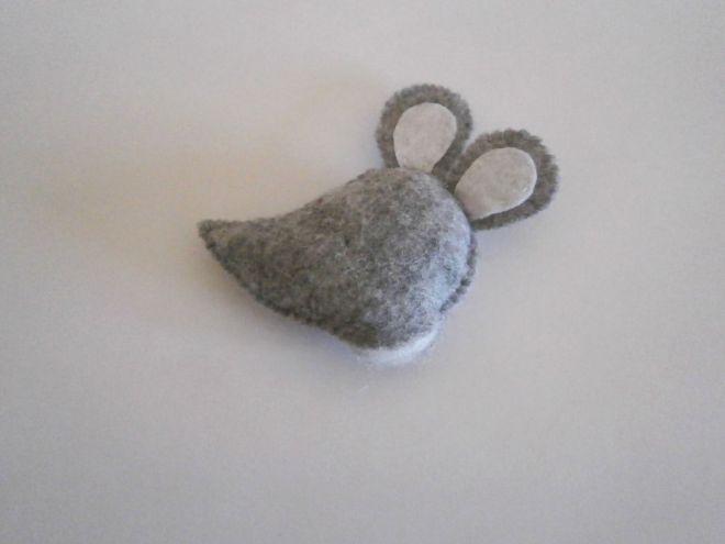 Мышка из фетра13