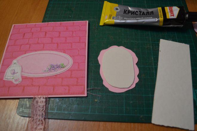 открытка с цветами своими руками из бумаги (10)