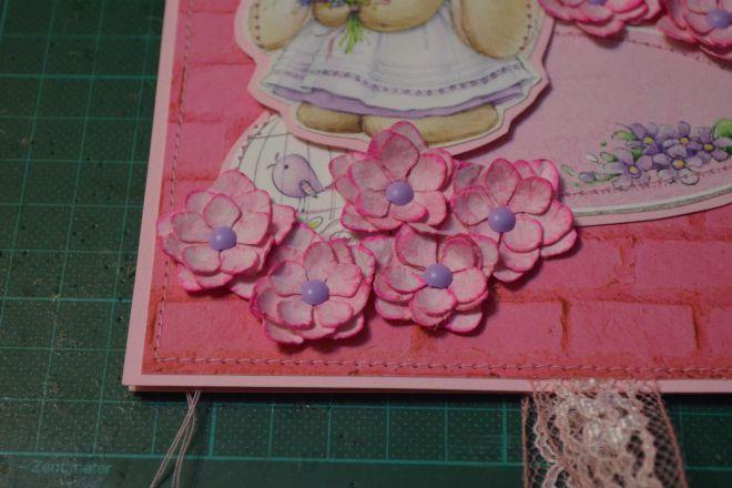 открытка с цветами своими руками из бумаги (15)
