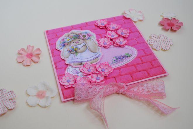 открытка с цветами своими руками из бумаги (20)