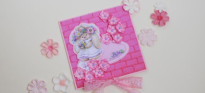открытка с цветами своими руками из бумаги (22)