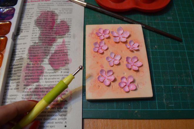 открытка с цветами своими руками из бумаги (4)