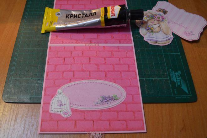 открытка с цветами своими руками из бумаги (9)