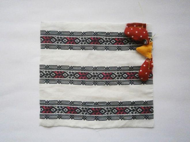 Петушок из ткани своими руками9