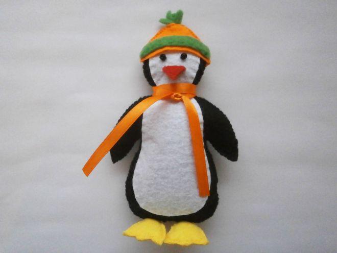 Пингвин из фетра21