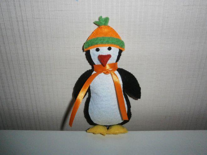 Пингвин из фетра22
