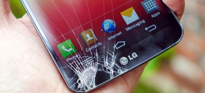Что делать если треснул экран у сенсорного телефона